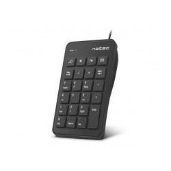 Keyboard Natec Goby USB Numeric, Black NKL-1333