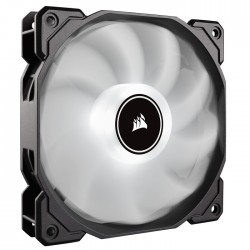 Corsair ventilátor AF120 LED High Airflow, low noise, 120mm, single pack, biely CO-9050079-WW