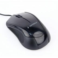 Gembird optická myš MUS-3B-02, 1000 DPI, USB, čierna