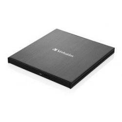 Verbatim Ultra HD 4K External Slimline Blu-ray Writer USB 3.1 with...