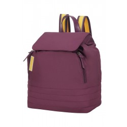 Backpack American T. 64G81001 UPTOWN VIBES ,GSM, keys, purple/yellow 64G-81-001