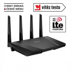 ASUS RT-AC87U, Gigabit Dualband Wireless LAN N Router 802.11ac 90IG00W0-BM3G10