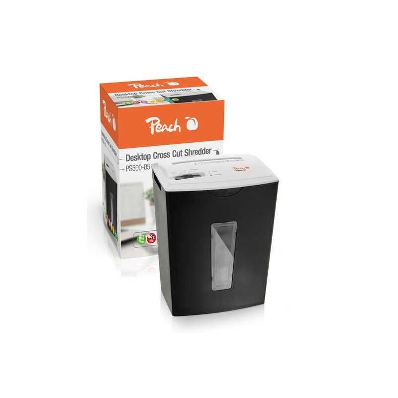 Peach PS500-05, cross cut 4x50mm, 3 listy, kôš 5 l, P-3 510729