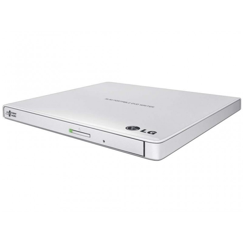 External DRW HLDS GP57EW40, Ultra Slim Portable, White GP57EW40.AHLE10B