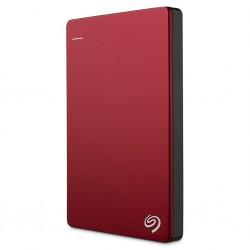 Seagate Backup Plus Slim - externý HDD 2.5' 1TB, USB 3.0, červená STHN1000403