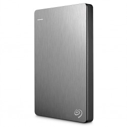 Seagate Backup Plus Slim - externý HDD 2.5' 1TB, USB 3.0, sivá STHN1000405