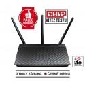 ASUS RT-AC66U, Gigabit Dualband Wireless LAN N Router 802.11ac 3 x 5 dbi odnímatelné antény 90-IGY7002N01-3PA0-