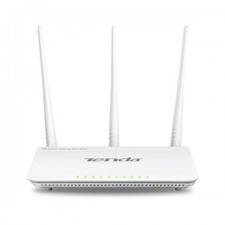 Tenda F303 Wireless-N router 300Mbps (3xLAN, 1xWAN), 3x5dBi fix.ant, WISP