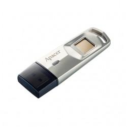 Apacer flash disk 32 GB AH651, snímač odtlačkov prstov USB 3.1 strieborný AP32GAH651S-1