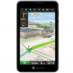 NAVITEL T757 LTE 7' tablet + Lifetime mapy + príslušenstvo do auta