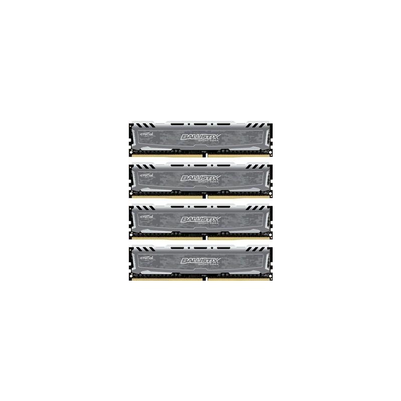 CRUCIAL DDR4 32GB (4x8) 2400MHz Ballistix Sport LT BLS4C8G4D240FSB