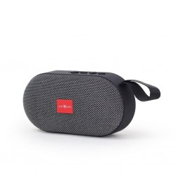 Gembird portable Bluetooth speaker, 3W, micro SD, USB, grey...