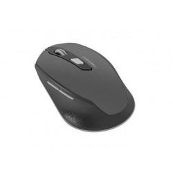 Natec Bezdrôtová myš SISKIN 2400 DPI čierna-šedá NMY-1423