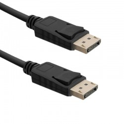 Qoltec DisplayPort v1.4 male / DisplayPort v1.4 male | 2m 50587
