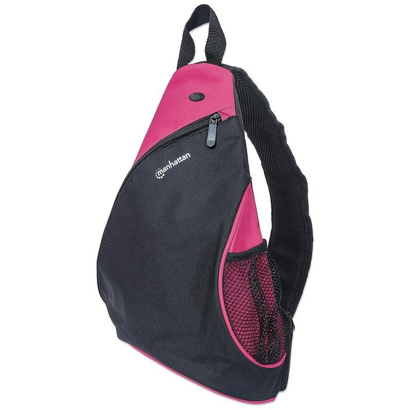 Manhattan Batoh typu Sling pre ultrabook 12' čierny/ružový, Dashpack 439879