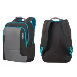 Backpack American T. 24G09001 UG1, documents, pockets, black 24G-09-001