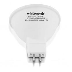 Whitenergy LED žiarovka | GU5.3 | 10 SMD 2835 | 5W | 220-240V| mlieko | MR16 10367-pack