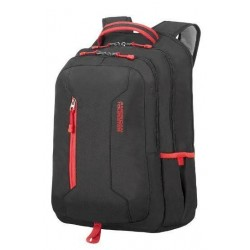 Backpack American T. 24G39004 UG4 15.6' comp, docu, pockets, BLACK/RED 24G-39-004
