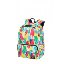 Backpack American T. 24G02022 UG LIFESTYLE BP 1,docu, pockets, Popsicle 24G-02-022