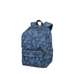 Backpack American T. 24G31022 UG LIFESTYLE BP 1,docu, pockets, Blue floral 24G-31-022