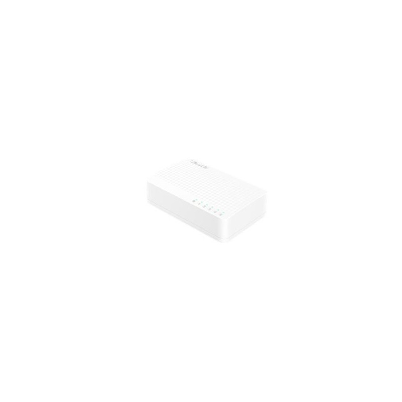 Tenda S105 5-Port 10/100Mbps Fast Ethernet Switch (plast)