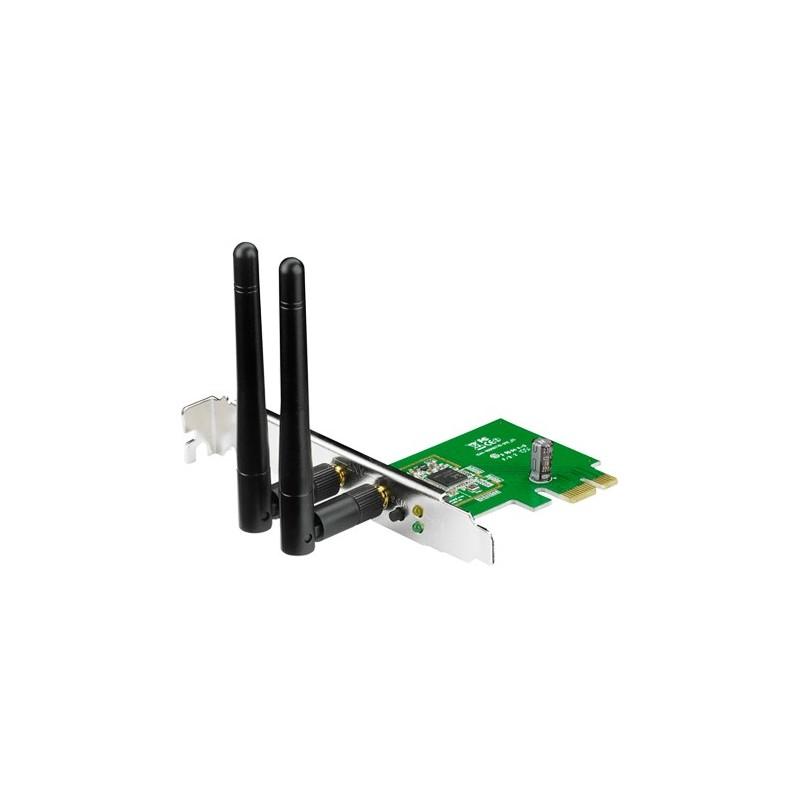 ASUS PCE-N15 Bezdrátový PCI-E Adapter adaptér 802.11b/g/n s rychlostí 300 Mb/s 90-IG1U003M00-0PA0-