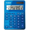 stolová kalkulačka CANON LS-123K modrá, 12 miest, solárne napájanie + batérie 9490B001