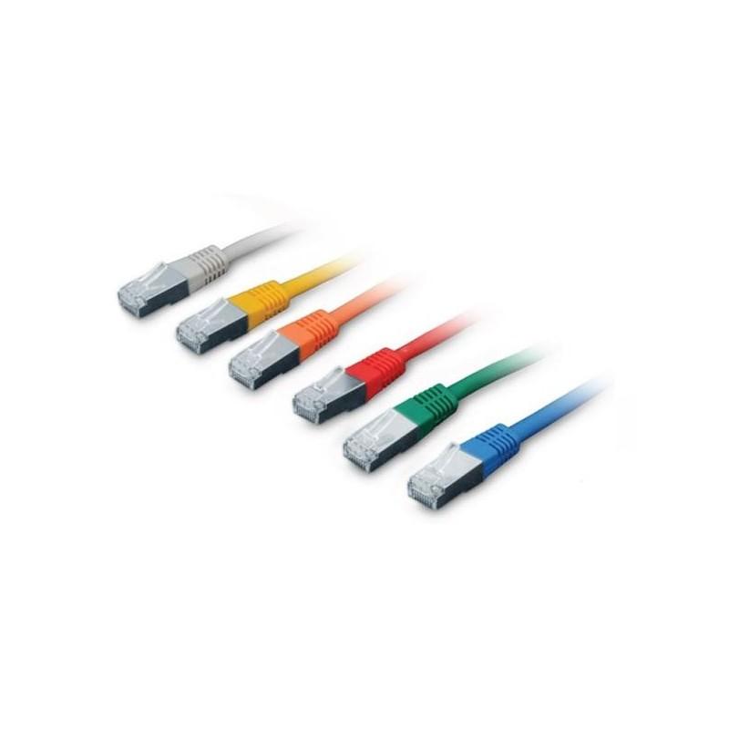 CNS patch kábel Cat5E, FTP - 5m , červený PK-FTP5E-050-RD