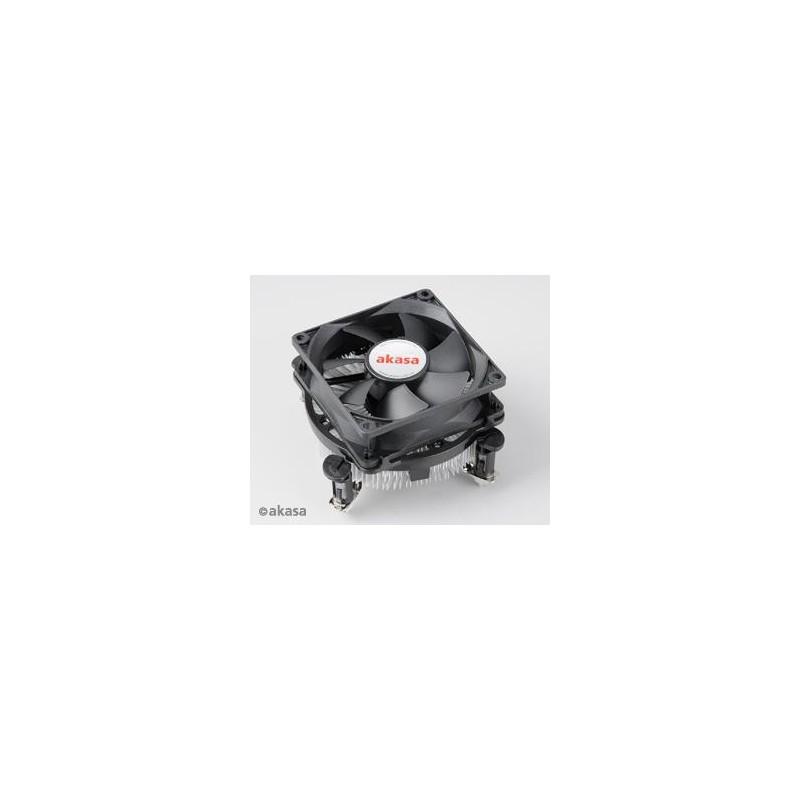 AKASA AK-CCE-7104EP pre LGA 775 a 1156 Ultra tichý PWM Fan