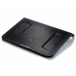 "chladiaci podstavec Coolermaster NotePal L1 pre notebooky 12-17"" čierny, 16cm ventilátor R9-NBC-NPL1-GP"
