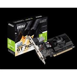 MSI GT 710 1GD3 LP, HDMI, DVI, VGA
