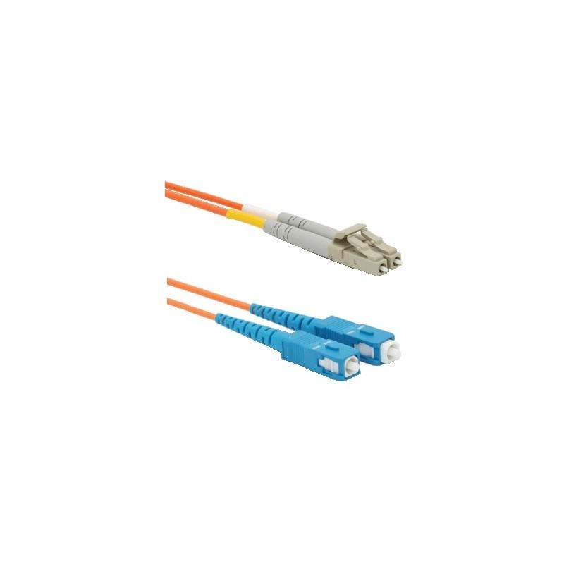 CNS opt. duplex patch kábel 9/125, LC/SC, 2m 13-HPS108-2M