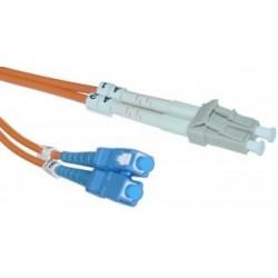 CNS opt. duplex patch kábel 50/125, LC/SC, 2m 13-HPM111-2M