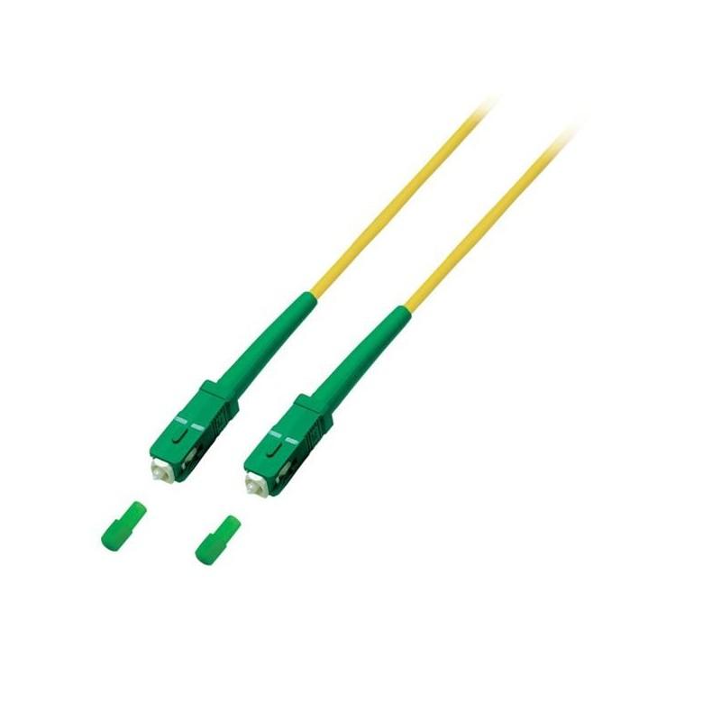 CNS opt. simplex patch kábel 9/125, SC(APC)/SC(APC), OS2, pre Orange a Magio, 15m O0944.15