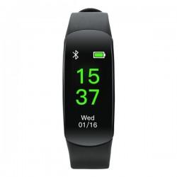 Canyon CNE-SB12BB smart hodinky, Bluetooth, farebný TFT displej 0,96´´,vodotesné IP68, merač tepu, krvného tlaku, multi