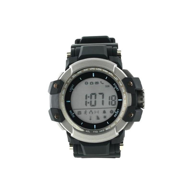 Canyon CNS-SW51BB smart hodinky, Bluetooth, farebný LCD displej 1.2´´, vodotesné IP68, military dizajn, podsvietený disp