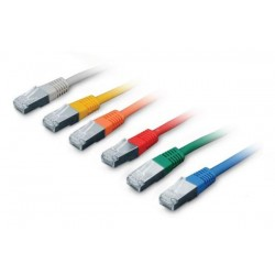 CNS patch kábel Cat5E, FTP - 5m , čierny PK-FTP5E-050-BK
