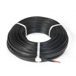 CNS kabel FTP, Cat5E, drôt, OUTDOOR, cievka 305m - čierna...