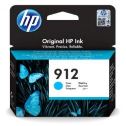 HP 912 Cyan Original Ink Cartridge 3YL77AE