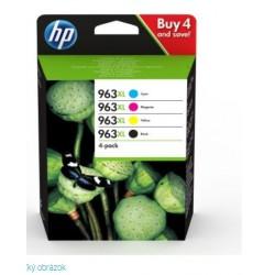HP 963XL High Yield C/M/Y/K Original Ink Cartridge 4-Pack 3YP35AE