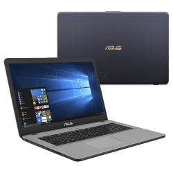 "ASUS VivoBook Pro N705FN-GC059T Intel i7-8565U 17.3"" FHD matný MX150-2GB 16GB 1TB+512GB WL BT Cam W10 sivý"