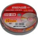 DVD-RW MAXELL 4,7GB 2X 10ks/bal. DVDRWMAX