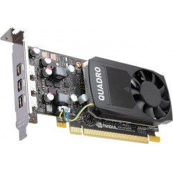 PNY NVIDIA Quadro P400, 2GB GDDR5 (64 Bit), 3xminiDP (3x miniDP to DP), LP VCQP400-PB