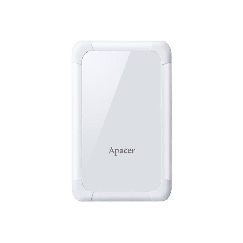 Apacer externý HDD AC532 2.5' 1TB USB 3.1, nárazuvzdorný, biely AP1TBAC532W-1