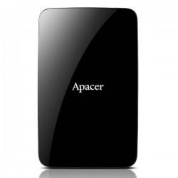 Apacer externý HDD AC233 2.5' 500GB USB 3.1, čierny AP500GAC233B-S