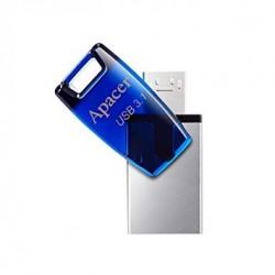 Apacer flash USB AH179 64GB USB 3.1 OTG modrá AP64GAH179U-1