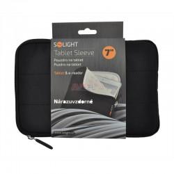 Solight nylónové puzdro na tablet, čítačku do 7', nárazuvzdorné polstrovanie, čierna 1N51