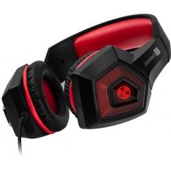 CONNECT IT BATTLE RNBW Ed. 2 herní sluchátka s mikrofonem, USB, 3,5mm Jack,ČARNO-ČERVENÁ CHP-5500-RD