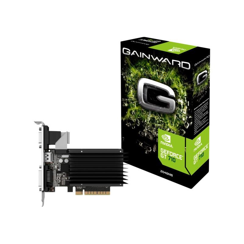 GAINWARD GeForce GT 710, 2GB DDR3 (Bit), HDMI, DVI, HEAT SINK 426018336-3576