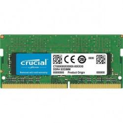 CRUCIAL 4GB/DDR4 SO-DIMM/2666MHz/CL19/1.2V/Single CT4G4SFS8266